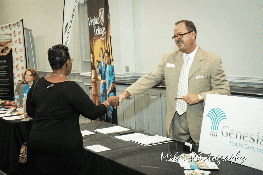 Photo of Howard Nettles of Genesis Health Care SC at Florence Business Empowerment & Career Fair