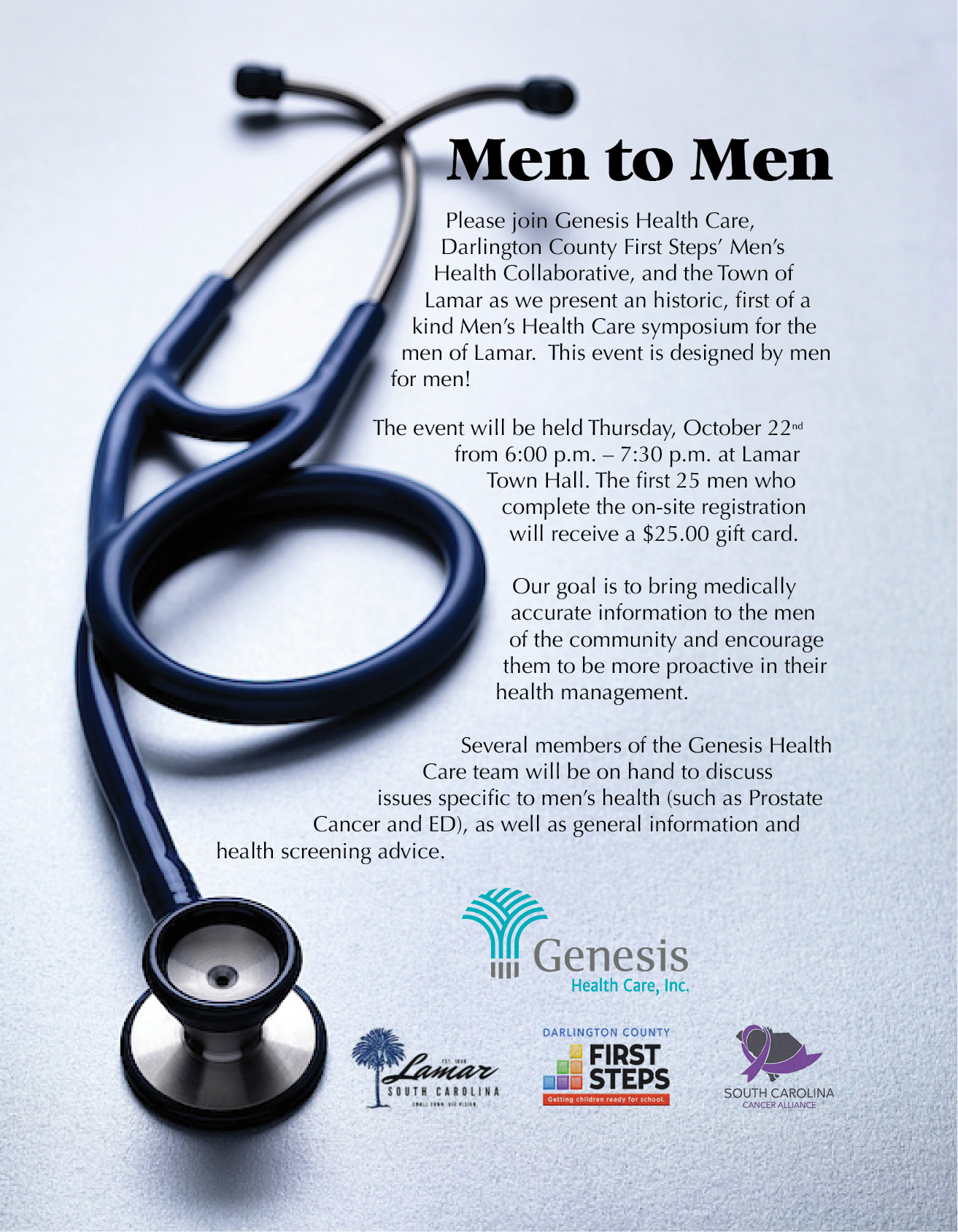Men to Men Health Care Symposium